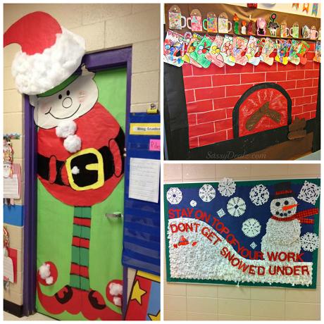List Of Christmas Bulletin Board Ideas For The Classroom Crafty Morning