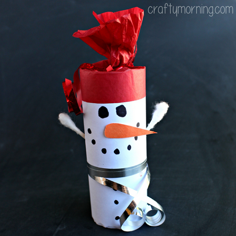 toilet-paper-roll-snowman-craft-for-kids-