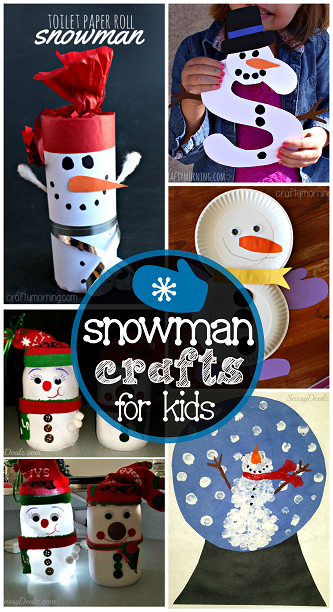 snowman-crafts-for-kids-to-make