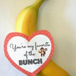 "DIY Banana Valentine's Day Gift Idea - ""You're My Favorite of the Bunch"""