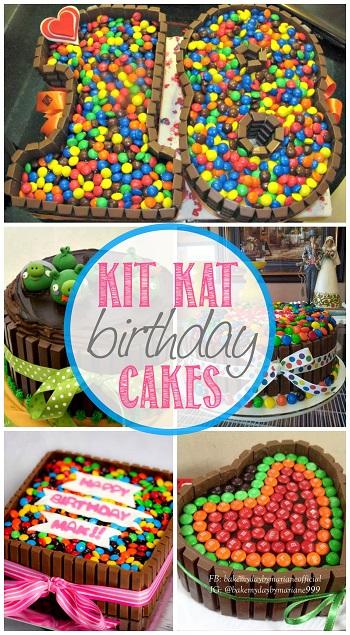 Strange Diy Birthday Cakes Using Kit Kats Chocolate Bars Crafty Morning Birthday Cards Printable Opercafe Filternl