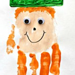 Leprechaun Handprint Craft For Kids (St. Patricks Day Idea)