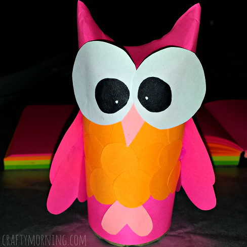 toilet-paper-roll-owl-craft-for-kids