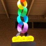 Rainbow Chain Craft For St. Patrick's Day