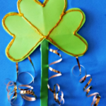 Shamrock Wand Craft for St. Patrick's Day