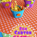 Egg Carton Easter Basket Craft for Kids