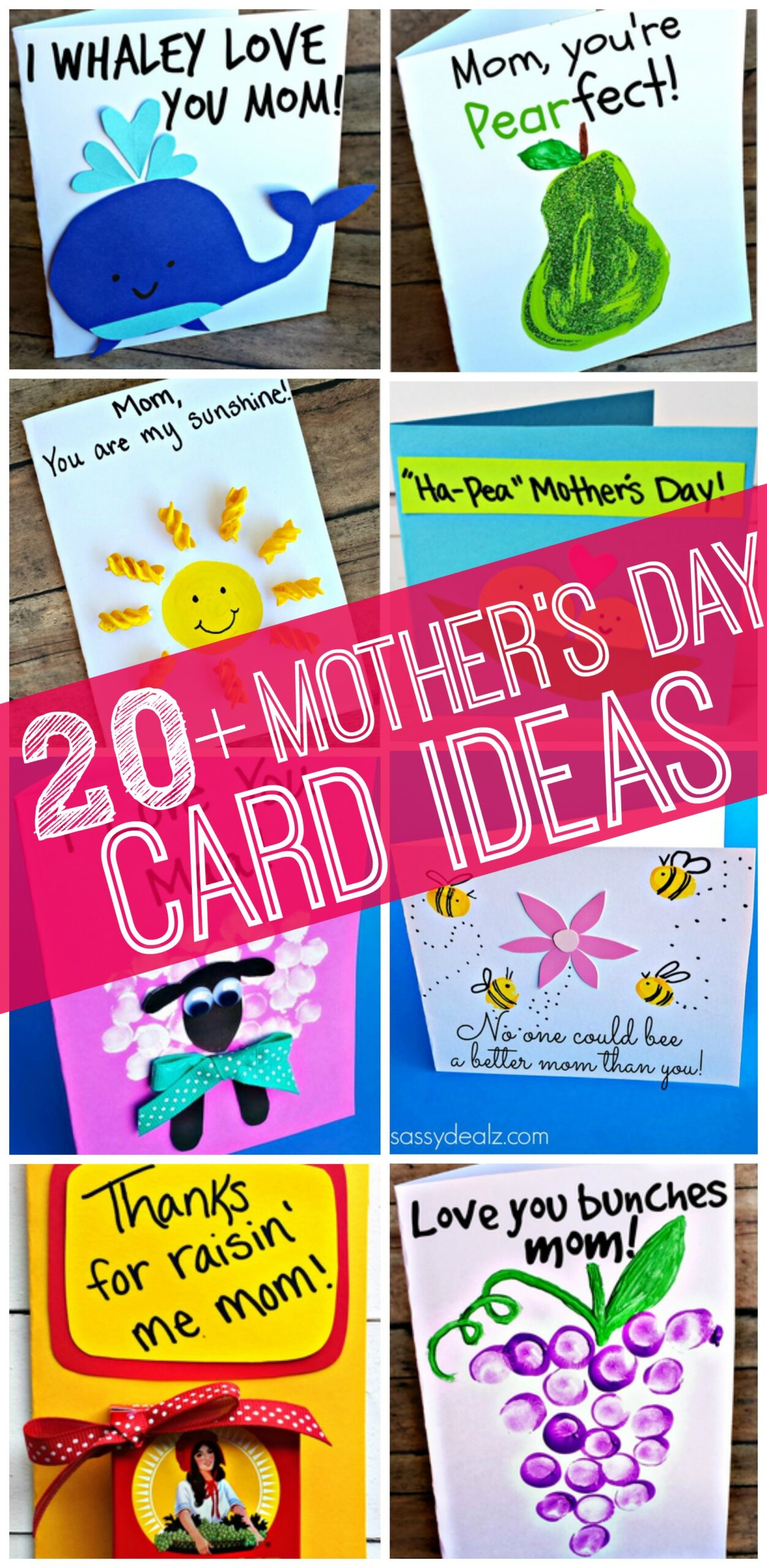 Easy Mother's Day Cards & Crafts for Kids to Make