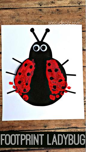 footprint-ladybug-craft-for-kids