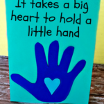 Meaningful Kid's Handprint Father's Day Card