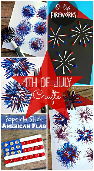 Patriotic 4th of July Crafts for Kids to Make