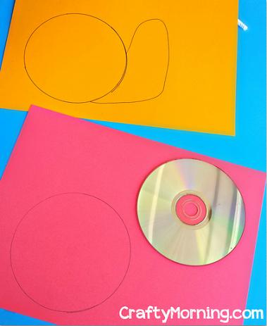 cd-snail-craft