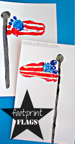 footprint-american-flag-craft-for-kids