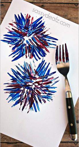 fork-firework-print-craft-for-kids