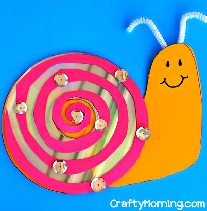 old-cd-snail-craft-for-kids-