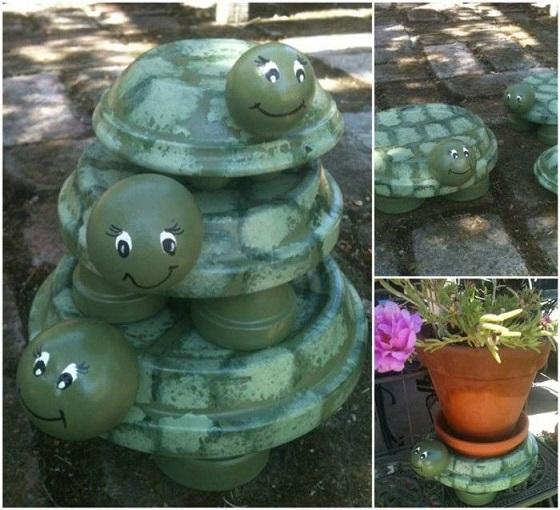 Terracotta-Pot-Turtles