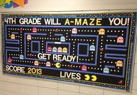 a-maze-back-to-school-bulletin-board