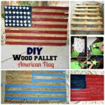 DIY: Wie man aus einer Holzpalette eine amerikanische Flagge macht (Schritt für Schritt Tutorial mit Bildern)