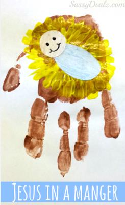 Cute Christmas Handprint Crafts For Kids