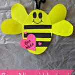 """Bee Mine"" Valentine's Day Craft For Kids"