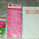 DIY Valentine's Day Bouncy Ball Gift Bag Idea