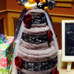 DIY Bridal Shower Towel Cake (Gift Idea)