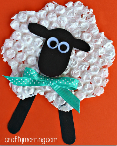 bubble-wrap-sheep-craft-for-kids--