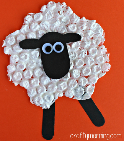 bubble-wrap-sheep-craft-for-kids-