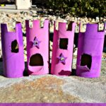 Toilet Paper Roll Castles {Craft Idea For Kids}