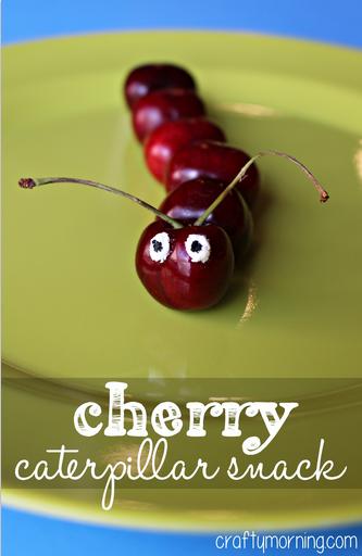 cherry-caterpillar-snack-for-kids