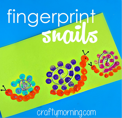 fingerprint-snail-craft