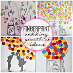 Fingerprint Wedding Guestbooks