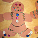 Gingerbread Man Christmas Craft Idea For Kids
