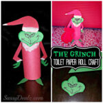 The Grinch Toilet Paper Roll Christmas Craft For Kids