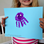 Handprint Octopus Craft for Kids