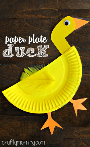 paper-plate-duck-craft-for-kids