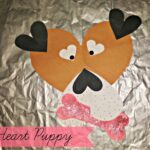 Valentine's Day Puppy Craft For Kids