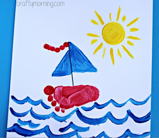 sailboat-footprint-craft-for-kids