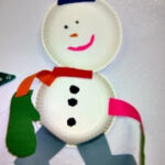 DIY: Snowmen Paper Plate Winter Craft For Kids
