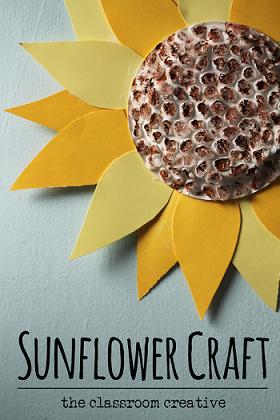 sunflower-craft-for-kids-