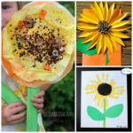 Sunflower Crafts for Kids to Make