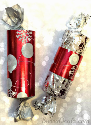 DIY Toilet Paper Roll Christmas Gift Boxes/ Packages For Kids