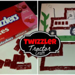 DIY: Make a Tractor out of Twizzler Bites (Cheap Kid's Craft)