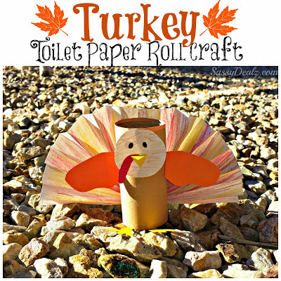 turkey toilet paper roll craft