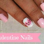 DIY Valentine's Day Heart Nail Designs