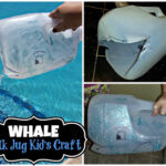 DIY: Whale Milk Jug Kid's Craft (Great For Water Play!)