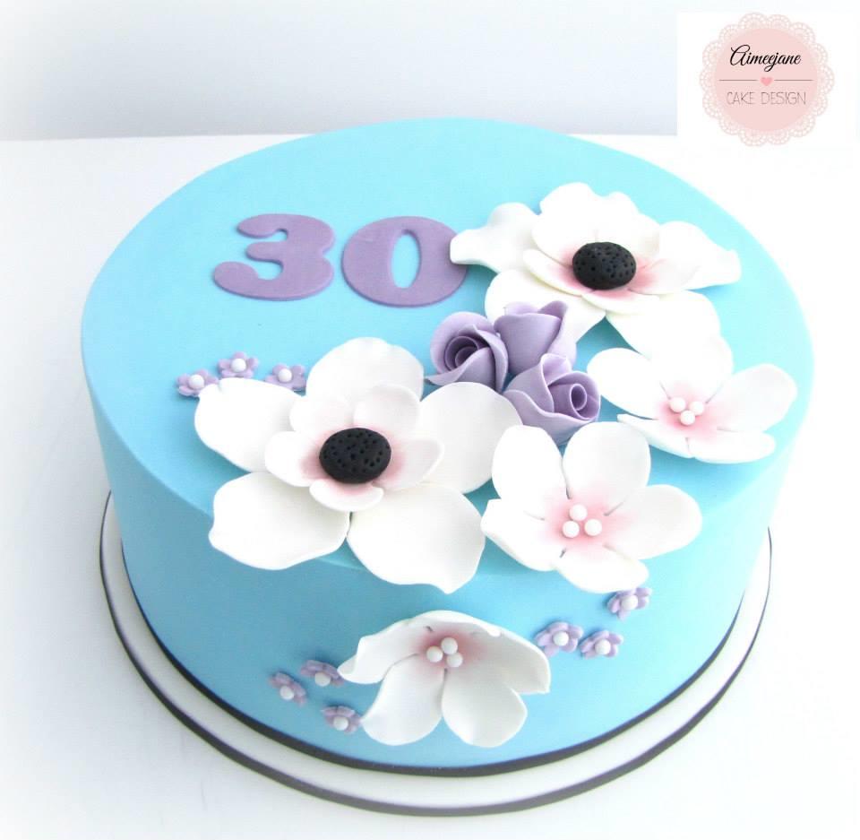 Pleasant Creative 30Th Birthday Cake Ideas Crafty Morning Personalised Birthday Cards Cominlily Jamesorg