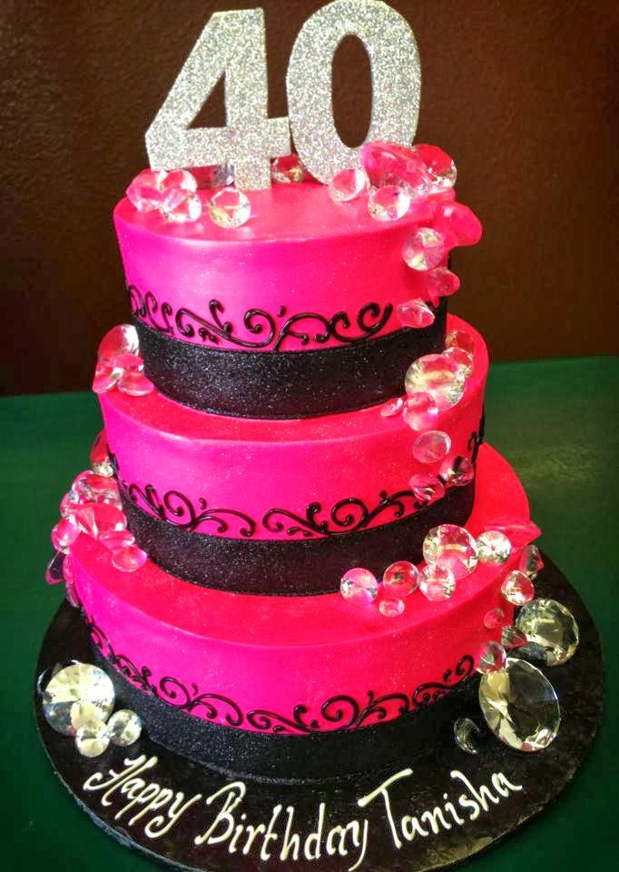 Creative 40th Birthday Cake Ideas