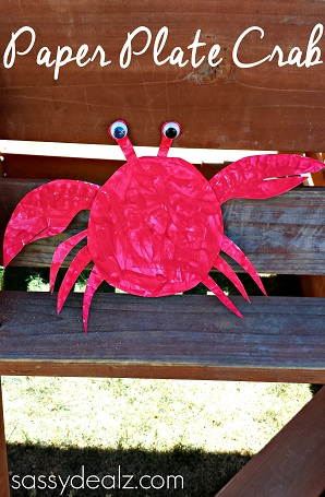 crab-paper-plate-crafts-kids