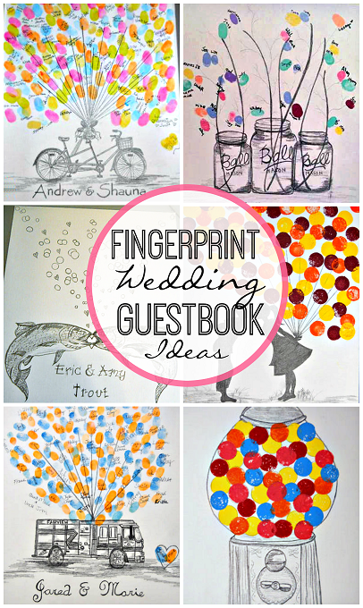 creative-fingerprint-wedding-guestbook-ideas