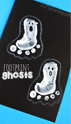 footprint-ghosts-halloween-craft-for-kids